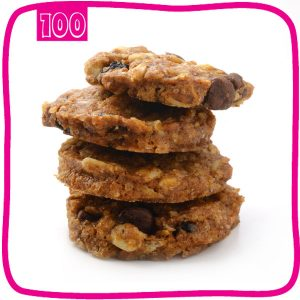 עוגיות גרנולה שוקולד צ'יפס תפזורת